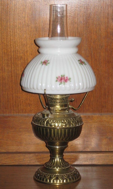 vintage oil lamps lighting on ruby lane oil lamps pinterest. Black Bedroom Furniture Sets. Home Design Ideas