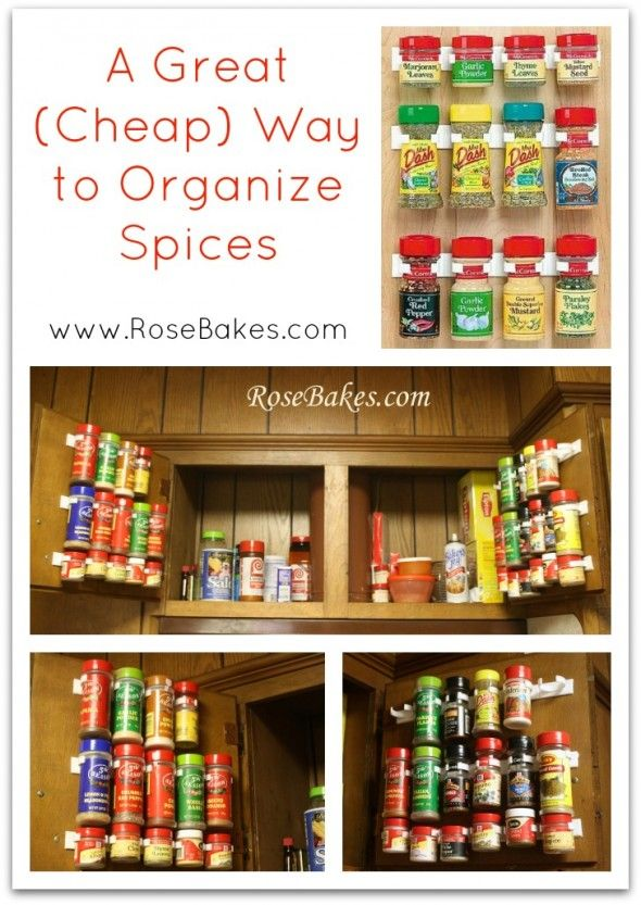 Best 25 Spice cabinet organize ideas on Pinterest