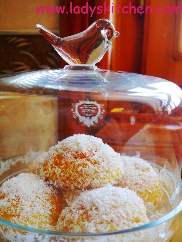 Portakallı Hindistancevizli Kurabiye