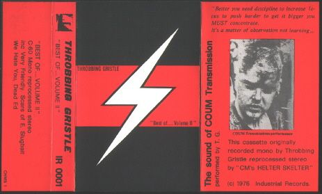 Images for Throbbing Gristle - Best Of.... Volume II