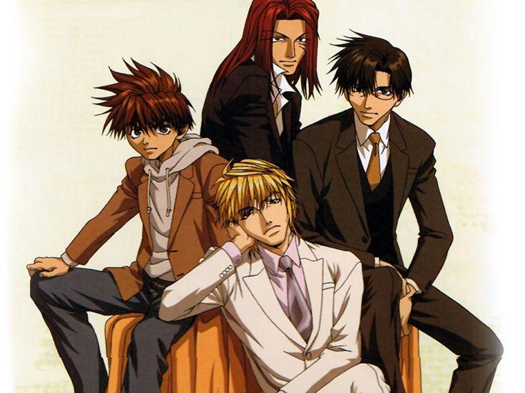 Son Goku, Sha Gojyo, Genjo Sanzo, Cho Hakkai