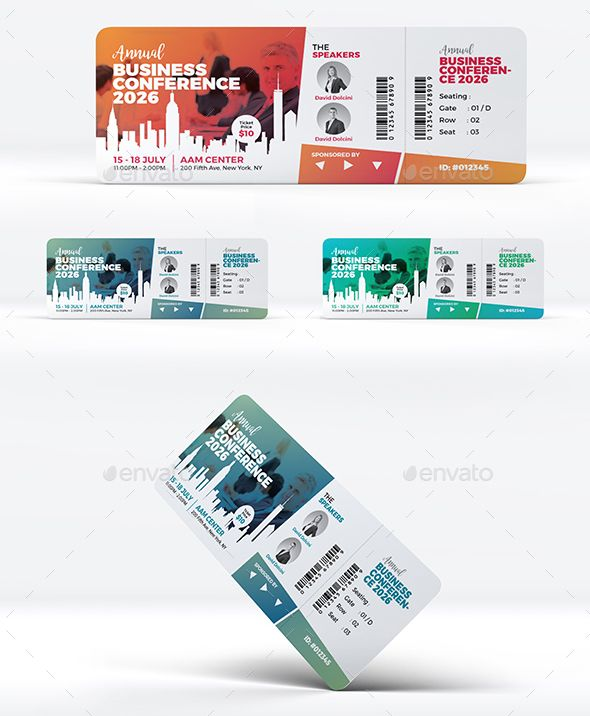 Event Conference Ticket Template Ticket Design Event Tickets Design Ticket Template