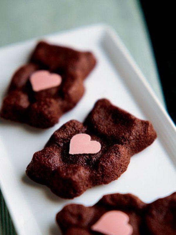Recipe : フォンダンショコラ/人気のパティシエ「ジェローム・ケネル」さんによる、おいしくキュートなレシピ。 #レシピ