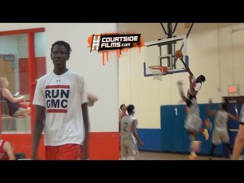 Manute Bol's 6'11 son Bol Bol does things 6'11 people SHOULD NOT BE ABLE TO DO - SBNation.com