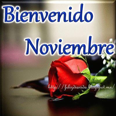 FELIZ DÍA A LA VIDA: Bienvenido noviembre (ver más...)
