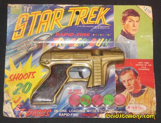 1960 Toys Vintage Star Trek Toys Gallery I Rayline