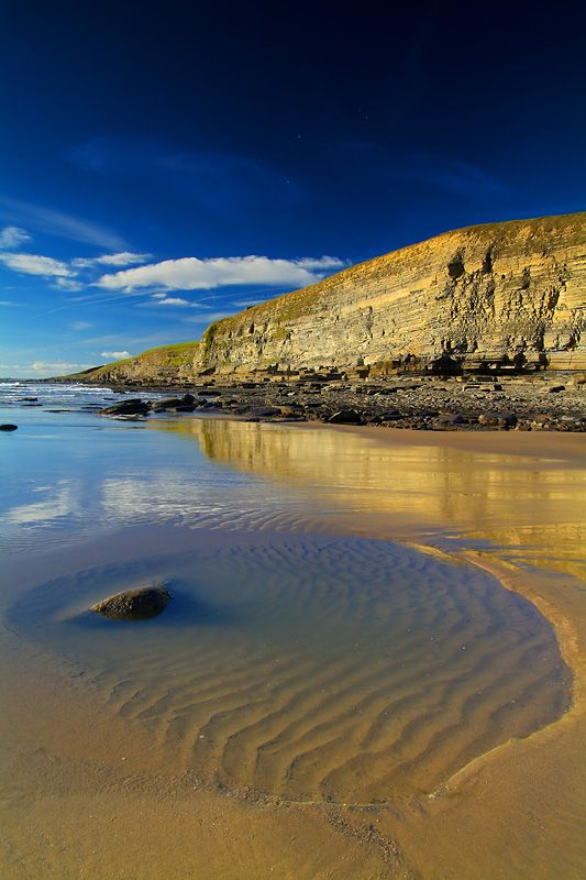 Dunraven Bay, Vale of Glamorgan, South Wales, UK