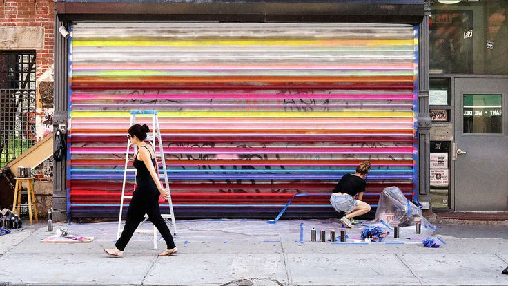 Businesses in the Lower East Side want to create the world's largest public outdoor gallery.