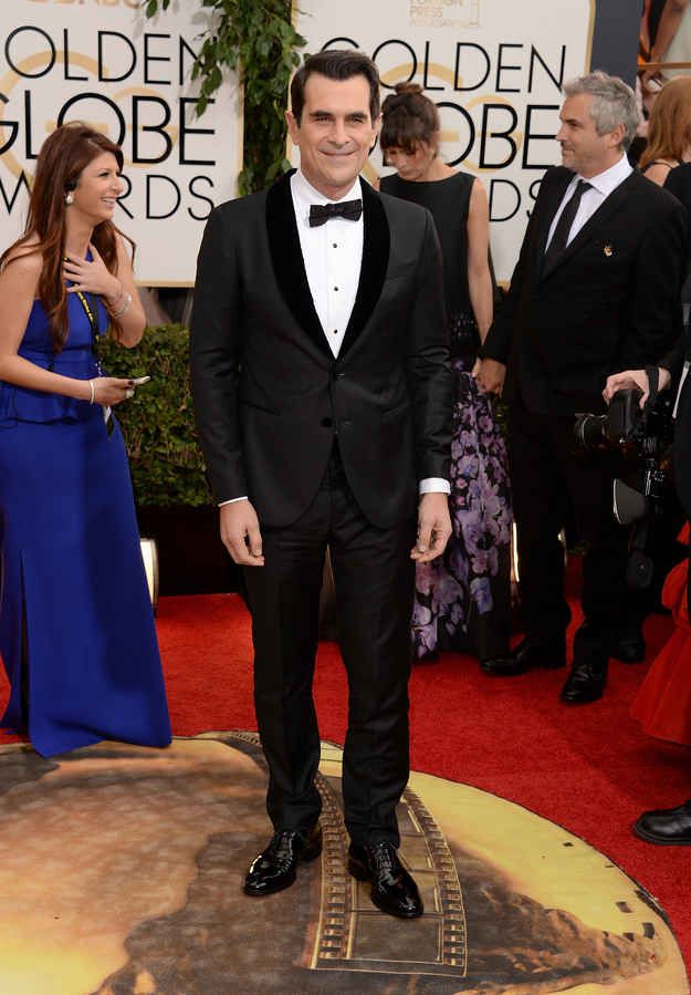 Ty Burrell | 15 Best Dressed Men At The Golden Globes