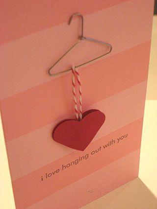 Cartão valentine's day