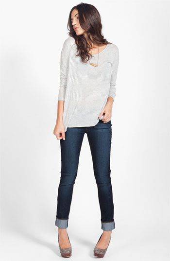 Soft Joie Top & Paige Jeans  available at #Nordstrom