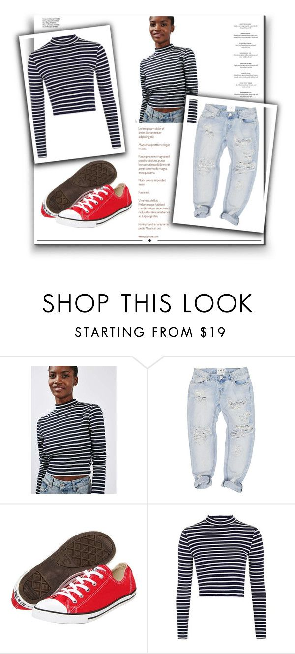 """Untitled #60"" by ptnaulty ❤ liked on Polyvore featuring Topshop, OneTeaspoon, Converse, Haute Hippie, Whiteley, casual, set and lovely"