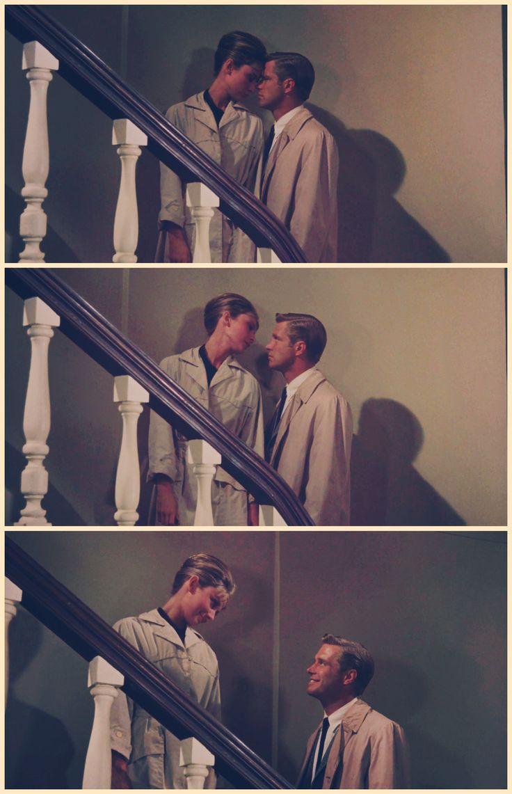 Breakfast at Tiffany's. Audrey Hepburn, George Peppard. Holly Golightly and Paul Varjak.