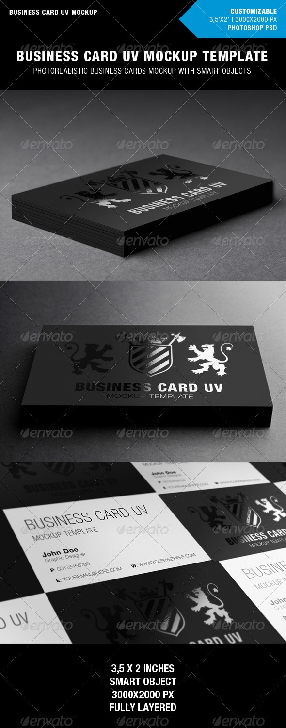 Best 25 business card mockups ideas on pinterest miniatures awesome business card mockup for spot uv designs reheart Gallery