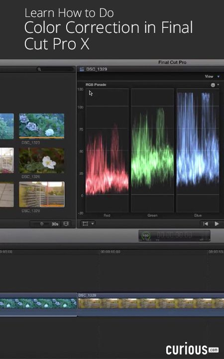 To give your movie the right feel, you need to know how to adjust the color. Learn a step-by-step process for perfect color correction in this lesson.