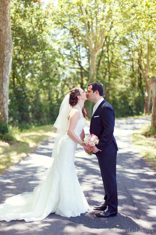 Mariage {Marine & Christophe} décoration mariage rose