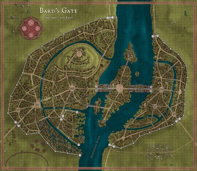 The Lost Lands: Bard's Gate for 5E, Pathfinder, and S&W! by Frog God Games — Kickstarter