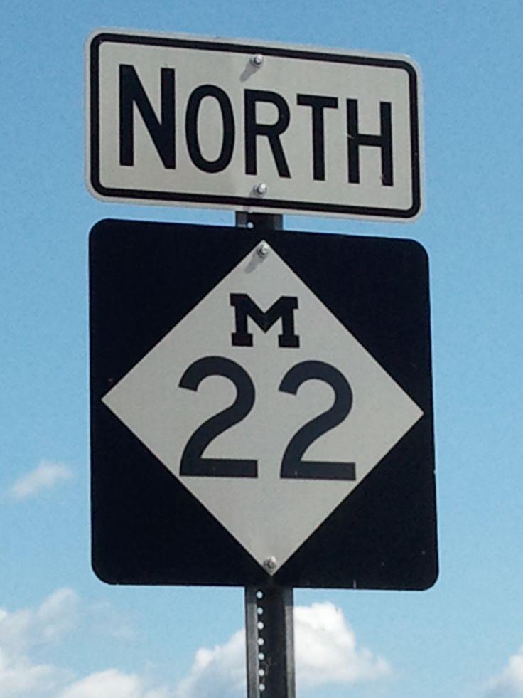 Northern Michigan....love, love, love M-22.....