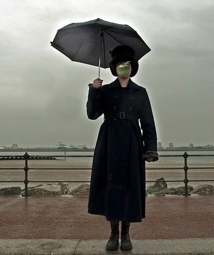 Magritte Son Of Man | by golconde daughter of man inspired by son of man