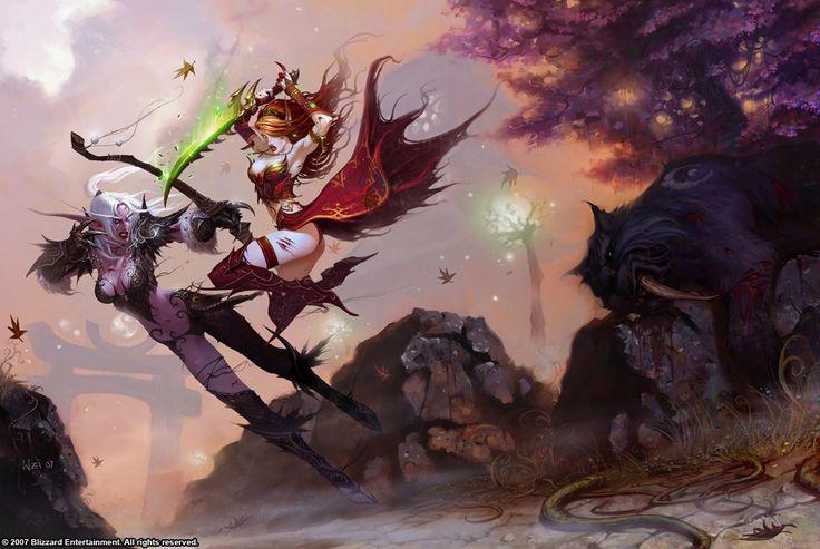 #warcraft #elfe #elf #bloodelf #druide #druid