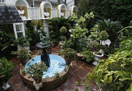 New Orleans Courtyard Gardens | Blanda bought his Esplanade Avenue home in 1966, when it was ...
