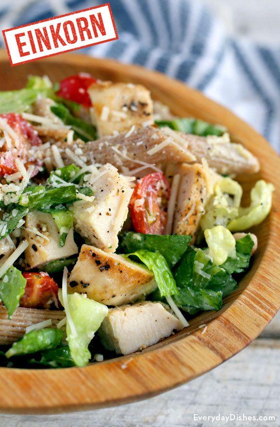 Chicken Cesaer Pasta Salad
