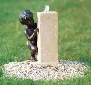 Садовые фонтаны | Апекс-Ланд great idea for a mini fountain set on the garden