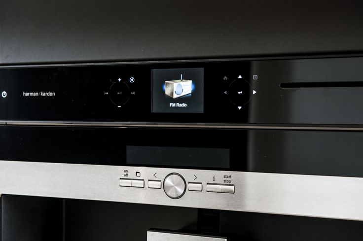 Rich, luxurious sound envelops the listener. Elegant design blends beautifully into most modern kitchens