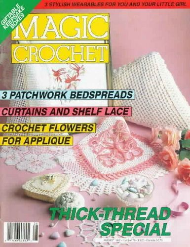 Magic Crochet Nº 79 (1992) - Nadia Petrowa - Álbuns da web do Picasa...FREE MAGAZINE!