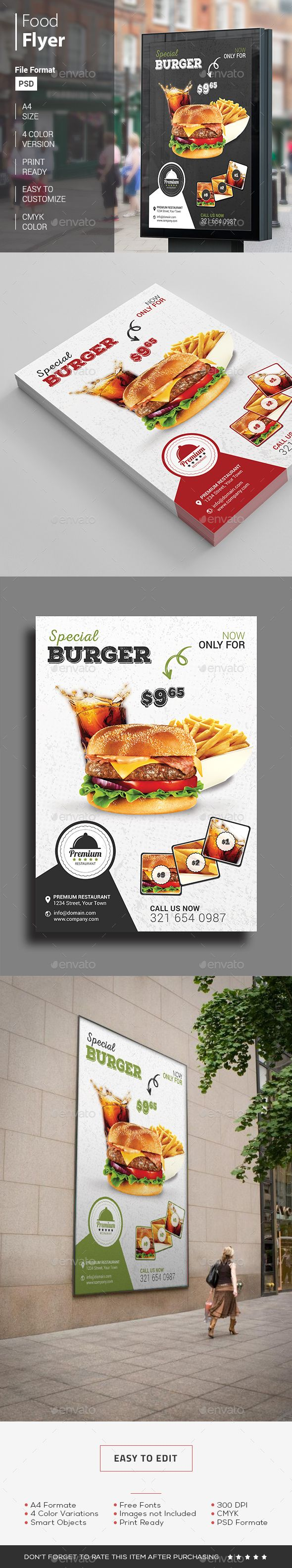 Awesome Save on Foods Flyer that can be used for restaurant, fast food or food truck businesses. A perfect Food Ad Template for weekly adds. A great alternative for food sale flyer template.  http://graphicriver.net/item/food-flyer/14379295?ref=themedevisers