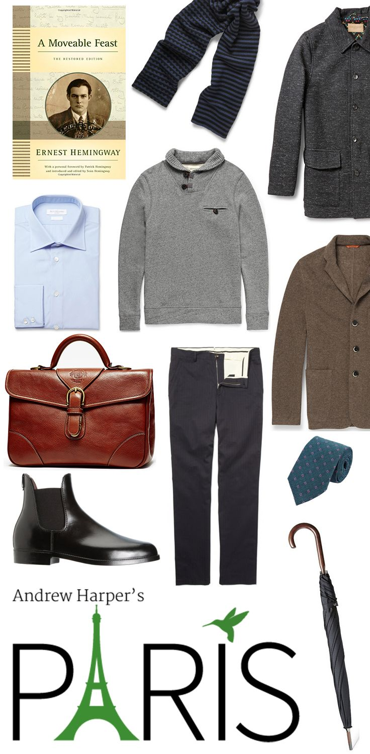 What to Pack for Paris | Paris Packing List for Him || Andrew Harper's Paris app is now available for download for iPhone and iPad.