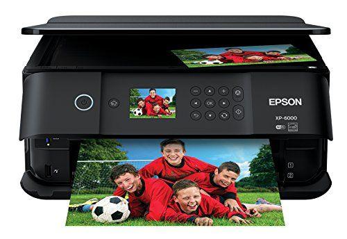 Epson Expression Premium Xp 6000 Wireless Photo Printer Best Offer Color Photo Printer Photo Printer Printer Scanner