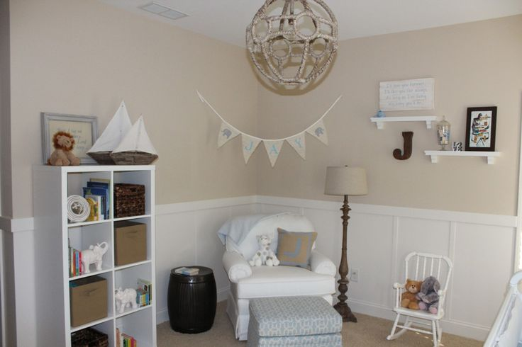 Cozy corner for nursing and cuddling - #nursery: Baby Boy