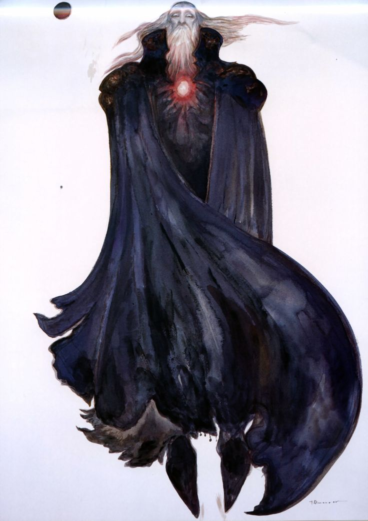 Garland by Yoshitaka Amano #final #fantasy #9