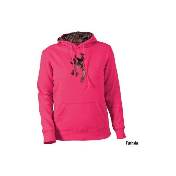 Gander Mountain® > Browning Womens Buckmark Camo Hooded Sweatshirt - Apparel > Women's Casual Apparel > Sweatshirts : found on Polyvore