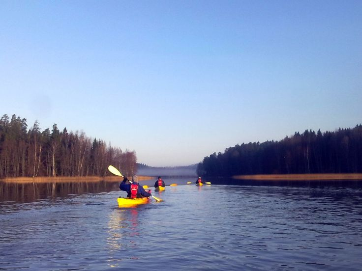Melontaa Lohjanjärvellä ©Kisakallio #Finland