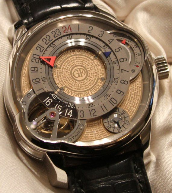 Greubel Forsey Invention Piece 3 Watch