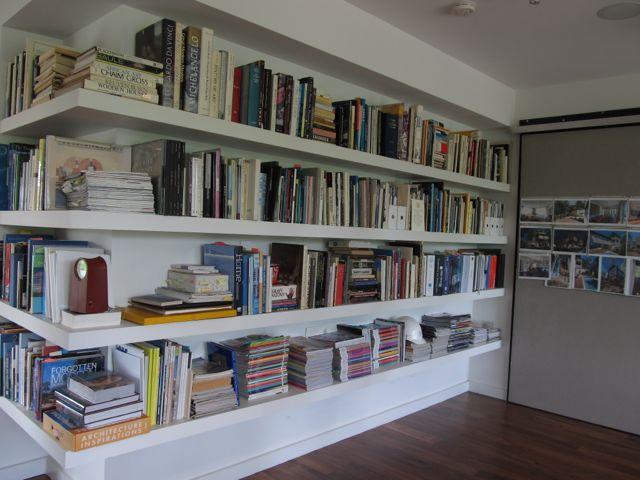 book ledge ceiling | home tour book shelf - wall of books.
