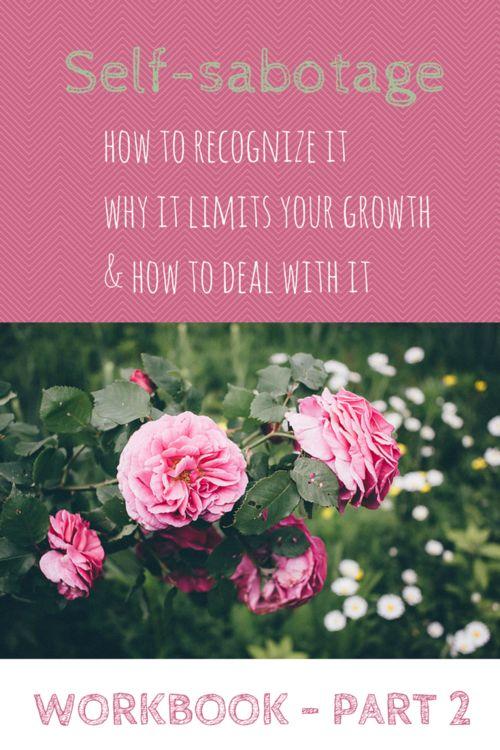 Workbook Self-sabotage - Library — Flowers and Flourish