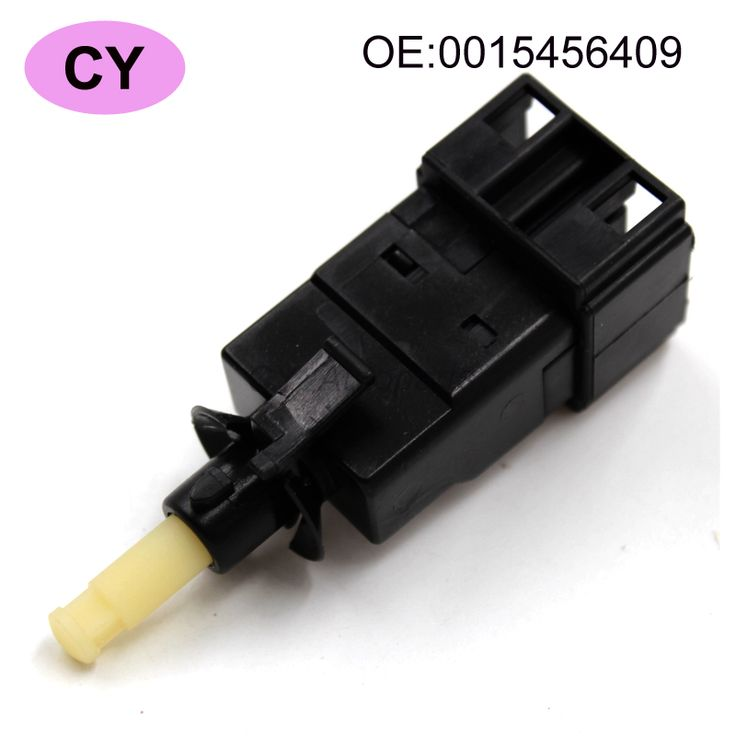 Black Plastic Car Auto Brake Light Lamp Stop Switch 0015456409 Fit For Mercedes-Benz