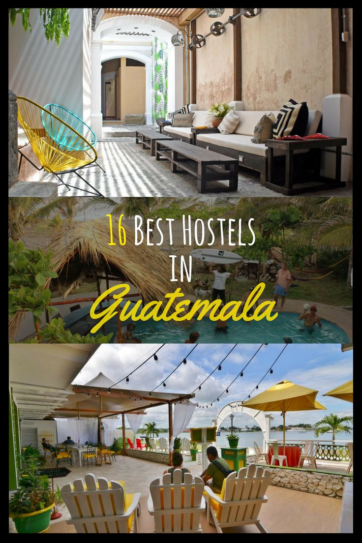You are travelling to Guatemala and you are still looking for accommodation? I created for you a list of the best Hostels in Guatemala. Here you will find the best Hostels in Guatemala City, Antigua, Flores, Lago de Atilan, Quetzaltenango, Livingston, Coban, El Paredon und San Juan La Laguna. #besthostels #Guatemala #travel #guatemalacity #backpacking #antigua #Flores #lagodeatilan #Quetzaltenango #livingston #coban #elparedon Thanks a million for repinning