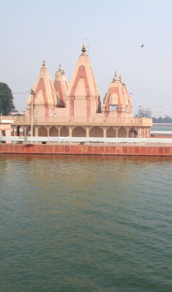Brahma Sarovar or Lord Brahma's Pond.