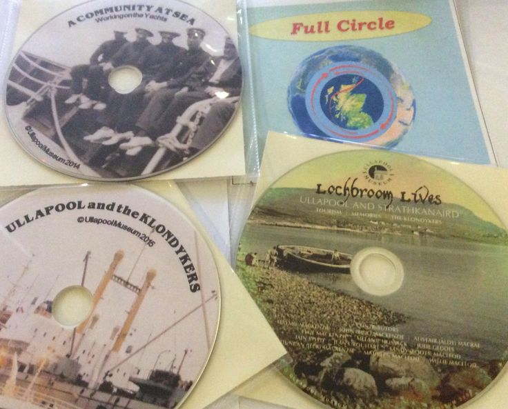 We're now selling DVDs and CDs of the audio visual presentations from some recent exhibitions. You can order through our website