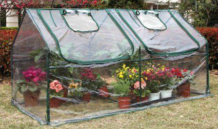 C mo hacer un mini invernadero en casa un invernadero es for Plantas que hay en un vivero