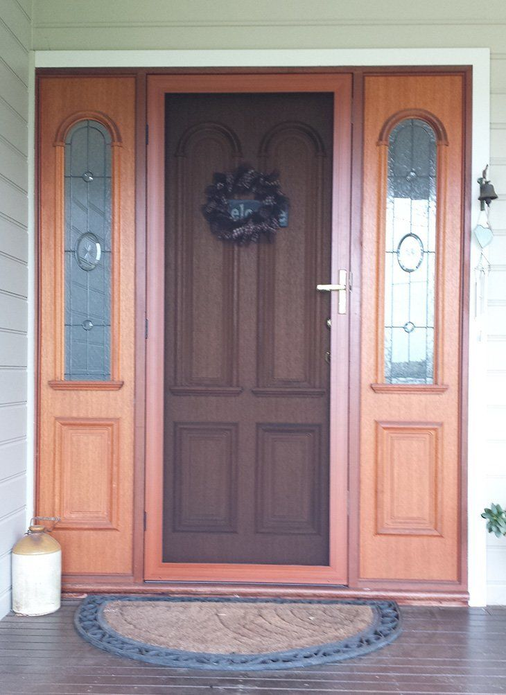 Supascreen-Front-Door-Decowood Frame