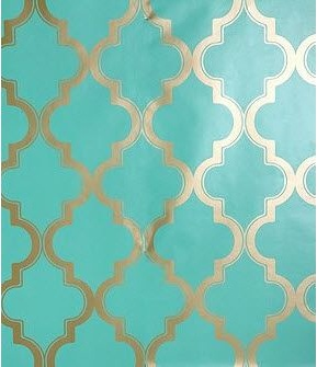 17 best images about bedroom ideas on pinterest window treatments shabby chic nurseries and - Turquoise wallpaper for walls ...