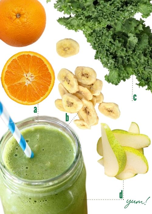 how to make orange smoothies at home