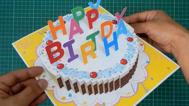 21 Creative Photo Of Birthday Cake Template Entitlementtrap Com Birthday Cake Card Pop Up Card Templates Birthday Cake Pops