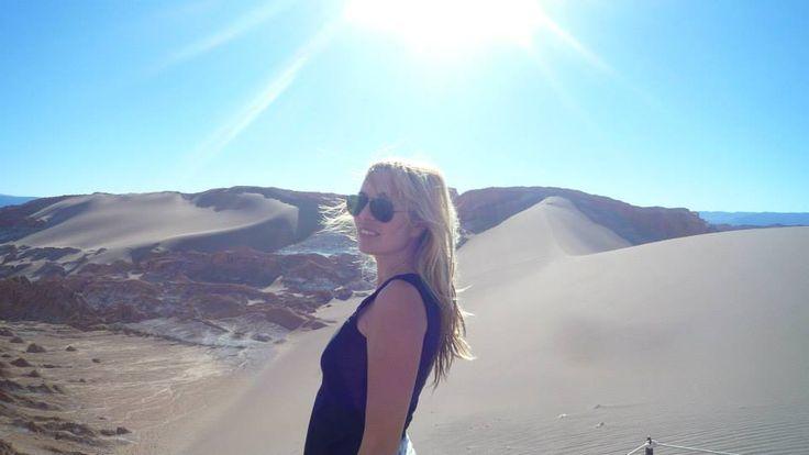 Desde el desierto de Atacama Izaro Eguia