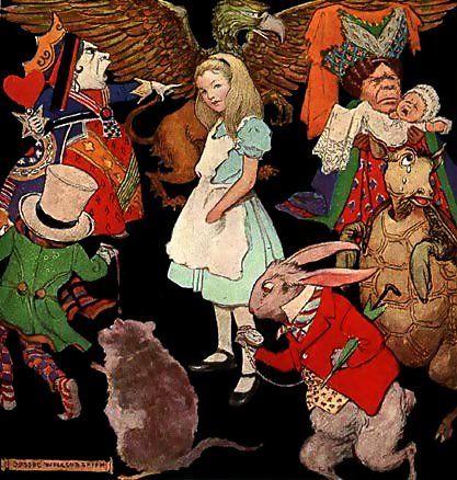 """Je vous invite à découvrir le magnifique talent de conteuse de Marie K Luna avec cette lecture d'""""Alice au pays des merveilles""""."""